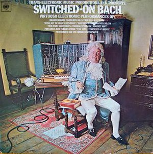 Switched-On Bach - Image: Switched On Bach first sleeve (seated Bach)