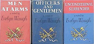 Sword of Honour - First editions (publ. Chapman and Hall)