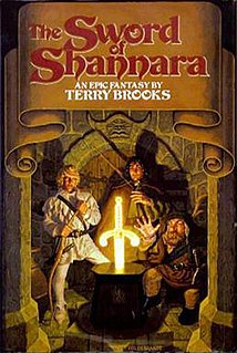 <i>The Sword of Shannara</i> 1977 Book by Terry Brooks