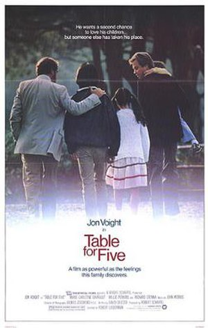 Table for Five - Theatrical release poster