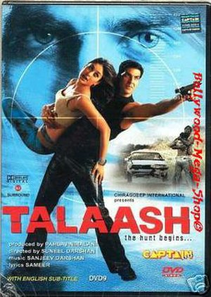 Talaash: The Hunt Begins... - DVD Cover