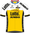 Team LottoNL-Jumbo jersey