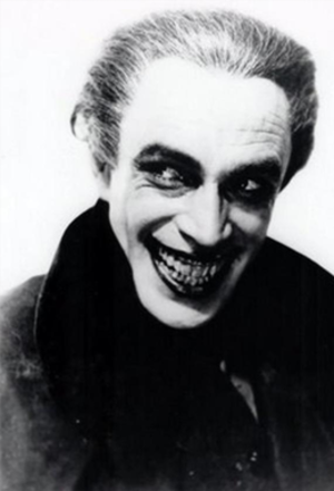 The Man Who Laughs (1928 film) - Conrad Veidt as Gwynplaine, the 1940 inspiration for the comic book nemesis of Batman, The Joker