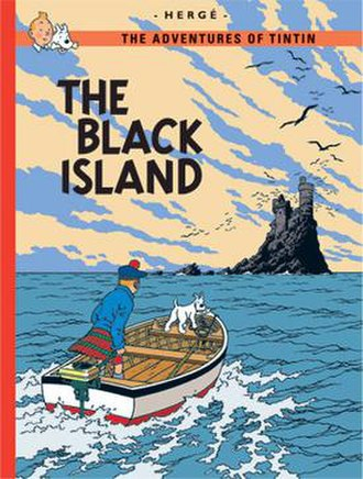 The Black Island - Cover of the English edition