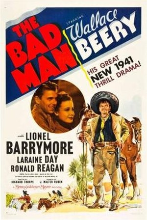 The Bad Man (1941 film) - Theatrical release poster