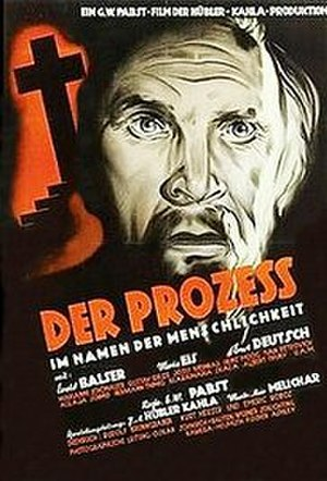 The Trial (1948 film) - Film poster
