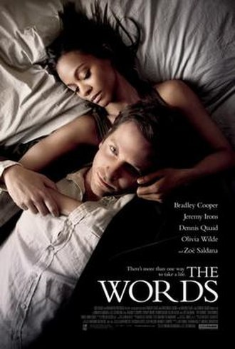 The Words (film) - Theatrical release poster