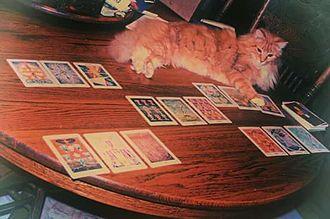 Thoth tarot deck - A Thoth tarot deck.