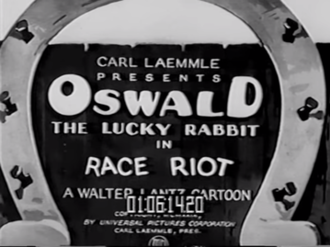 Race Riot (film) - The title card of Race Riot.
