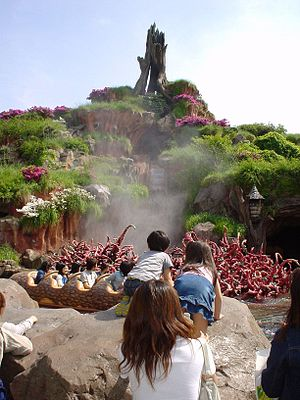 Splash Mountain - Splash Mountain at Tokyo Disneyland
