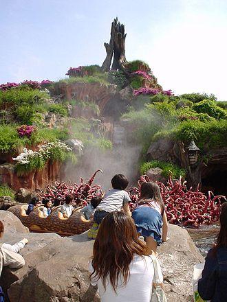 Splash Mountain - Splash Mountain at Tokyo Disneyland
