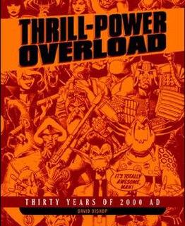 <i>Thrill-Power Overload</i> book by David Bishop