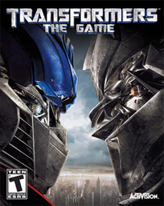 Transformers: The Game - Image: Transformers The Game Coverart