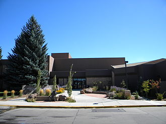 University of Wyoming College of Law - Front of University of Wyoming College of Law