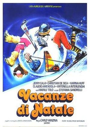 Vacanze di Natale - Theatrical release poster by Renato Casaro