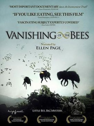 Vanishing of the Bees - Theatrical release poster