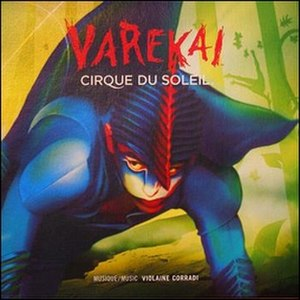 Varekai - The revised album artwork of Varekai, 2013