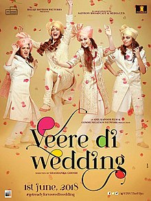 Veere Di Wedding (2018) Hindi HDRip 700MB AAC Esubs MKV