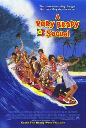 A Very Brady Sequel - Theatrical release poster