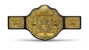 picture about Printable Wrestling Belt Template named Large Gold Belt - Wikipedia