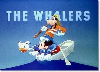 <i>The Whalers</i> 1938 Mickey Mouse cartoon