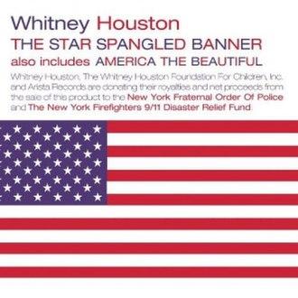 The Star Spangled Banner (Whitney Houston recording) - Image: Whitney Houston TSSB2001