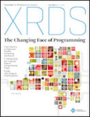 XRDS (magazine) - Image: XRD Scover