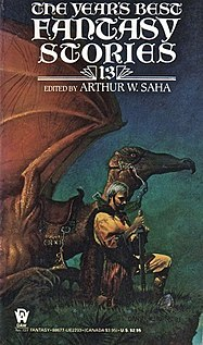 <i>The Years Best Fantasy Stories: 13</i> book by Arthur W. Saha