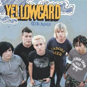 Ocean Avenue (song) - Image: Yellowcard Ocean Ave single