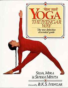 Yoga the Iyengar Way Mehta 1990 cover.jpg