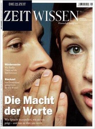 Zeit Wissen - Image: Zeit wissen cover oktober 2012