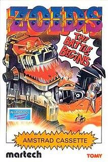 <i>Zoids: The Battle Begins</i> 1986 video game