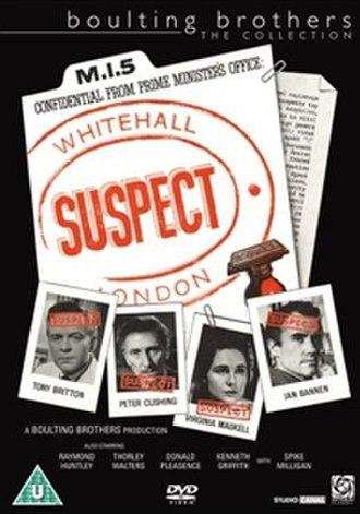 """Suspect (1960 film) - Image: """"Suspect"""" (1960)"""
