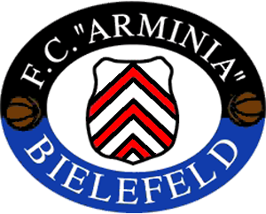 Arminia Bielefeld - Logo of founding side 1. FC Arminia Bielefeld.