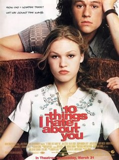 <i>10 Things I Hate About You</i> 1999 film by Gil Junger