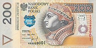 Polish złoty - Image: 200zl r