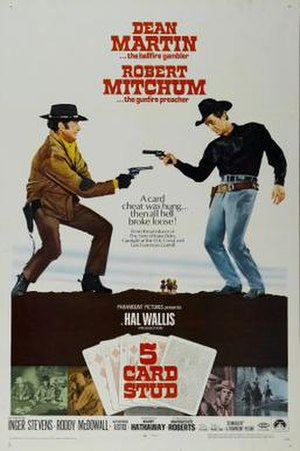 5 Card Stud - US Film Poster