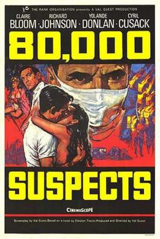 80,000 Suspects - US Poster