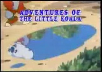 Adventures of the Little Koala - Title screen