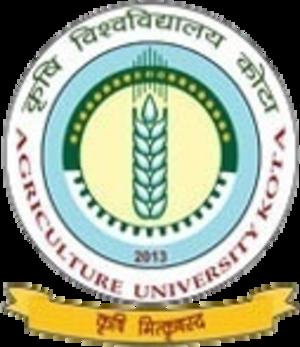 Agriculture University, Kota - Image: Agriculture University, Kota logo