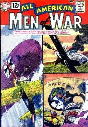 Jerry Grandenetti - Image: All American Men Of War 89