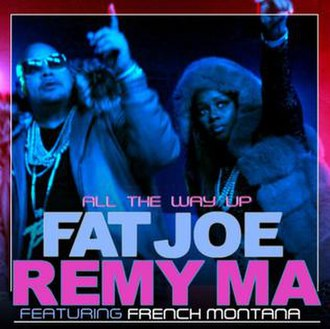 Fat Joe and Remy Ma featuring French Montana — All the Way Up (studio acapella)