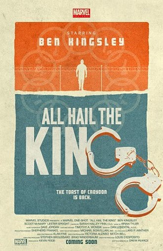All Hail the King - Release poster