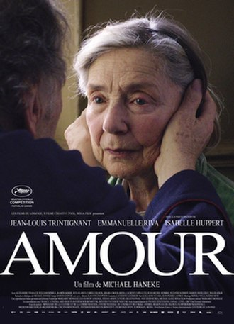 Amour (2012 film) - French release poster