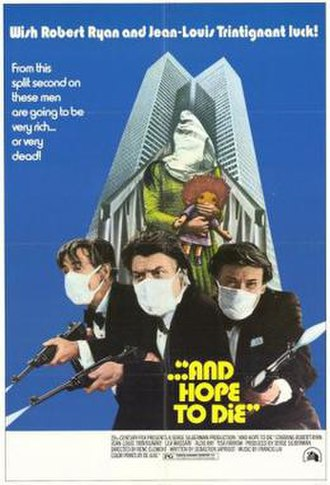 And Hope to Die - Original theatrical poster