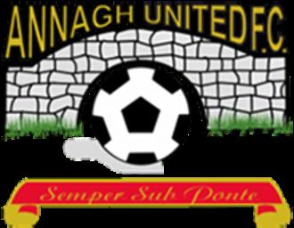 Annagh United F.C. - Image: Annagh United F.C. logo