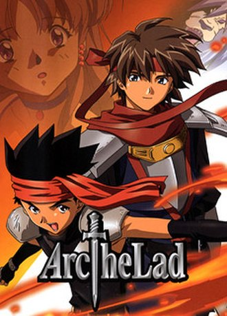 Arc the Lad - Promotional image distributed by Bee Train