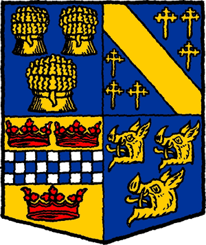 Aberdeenshire (historic) - Arms of the former county council
