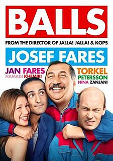 <i>Balls</i> (film) 2010 film directed by Josef Fares