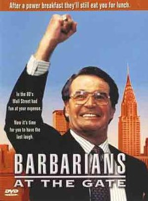 Barbarians at the Gate (film) - DVD cover